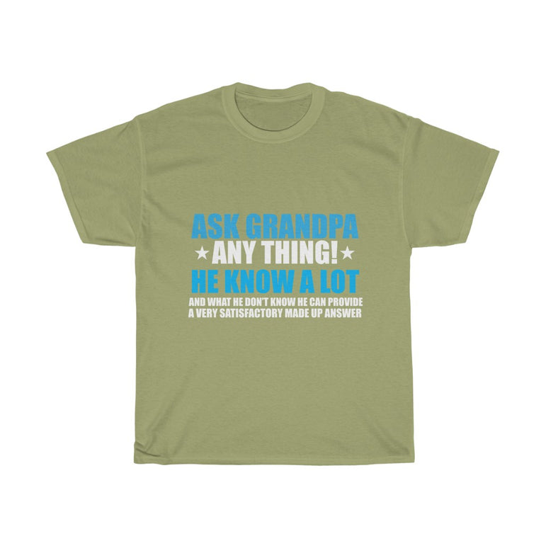 Ask grandpa anything - ShirtShopEurope