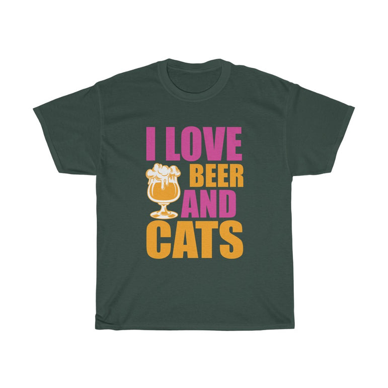 I Love beer and cats