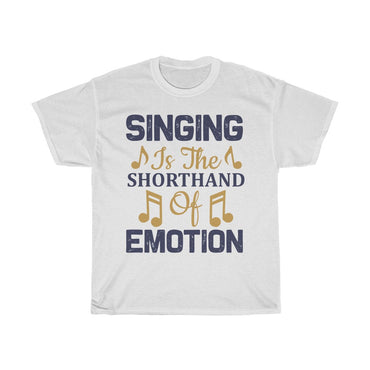 Singing is the shorthand