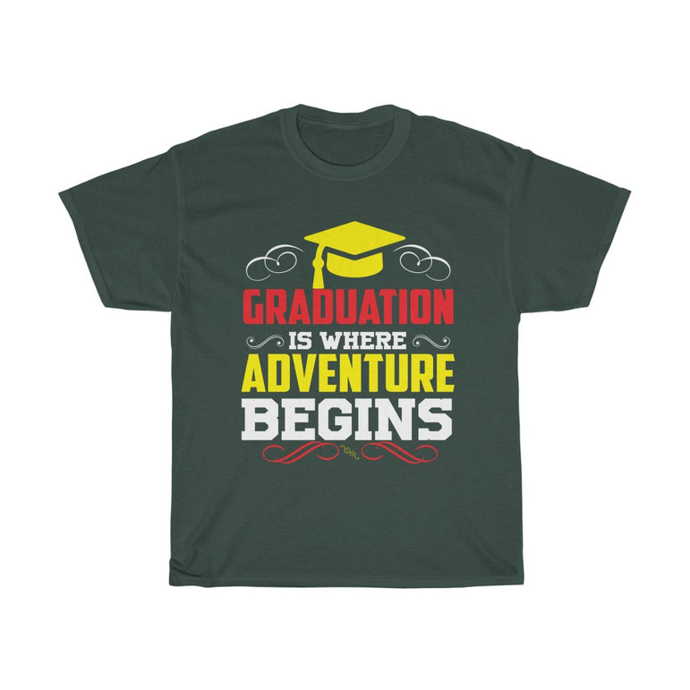 Graduation is where adventure beings