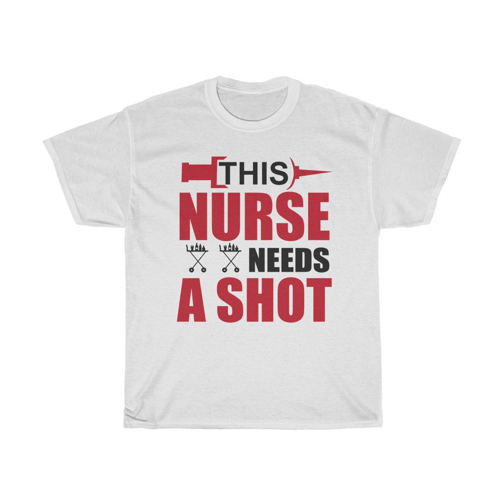 This nurse needs a shot
