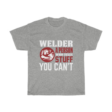 Welder a person who fixes stuff