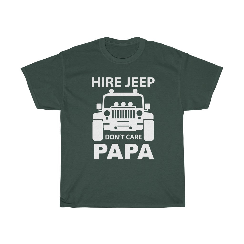 Hire Jeep Don't care