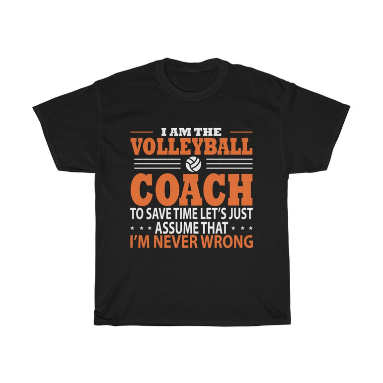 I am the volleyball coach
