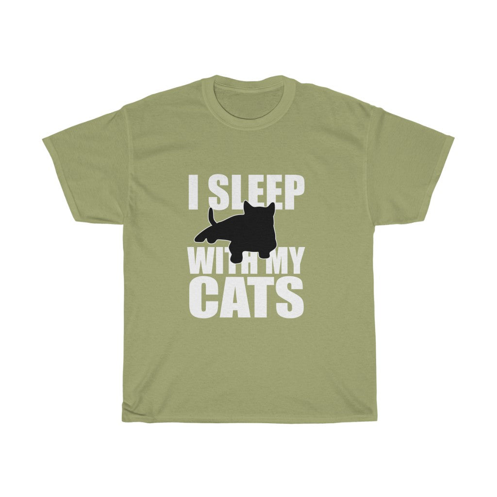 I sleep with my cats
