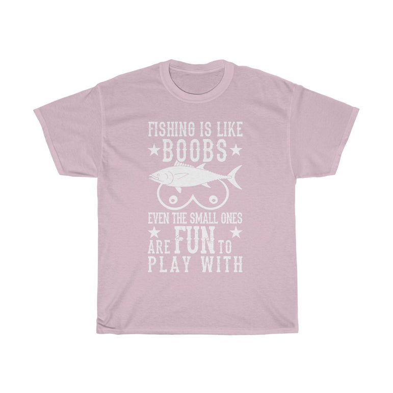 Fishing is like boobs - ShirtShopEurope