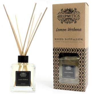 200ml Lemon Verbena Essential Oil Reed Diffuser - Miss Pretty London UK Limited