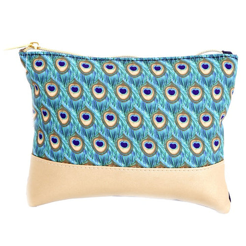 22CM PEACOCK MAKEUP BAG - Miss Pretty London UK Limited