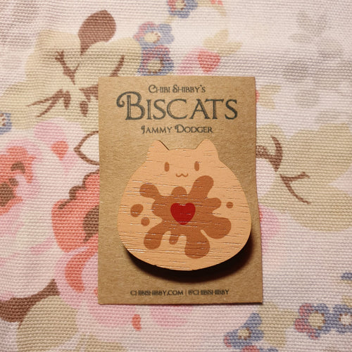 Biscat - Jammy Brooch - CS24 - Miss Pretty London UK Limited