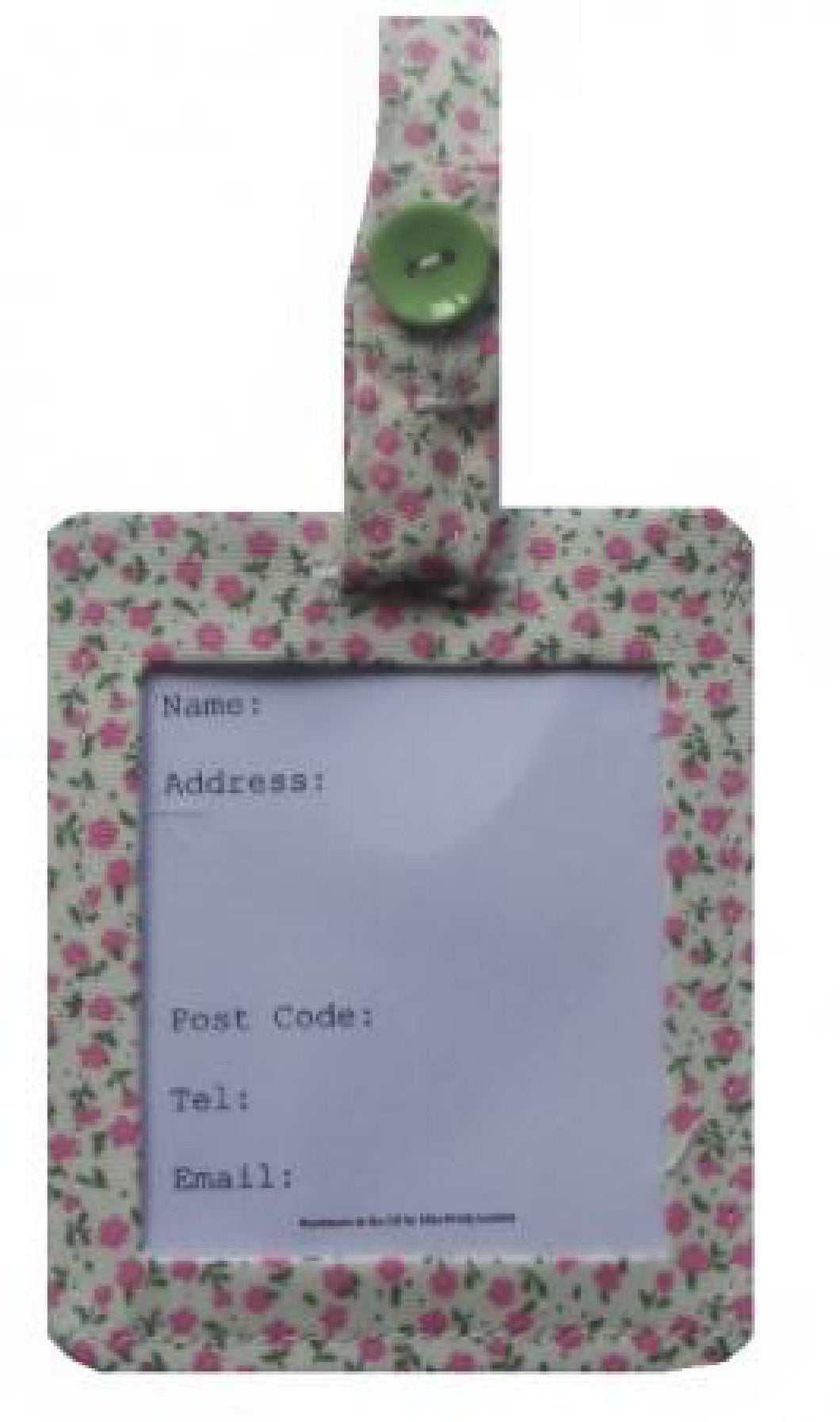 Pink_Mini_Flowers_Luggage_Identity_Bag_Tag