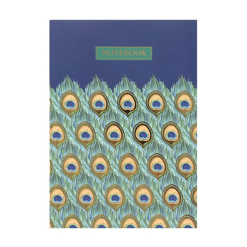 A6 PEACOCK NOTEBOOK - Miss Pretty London UK Limited