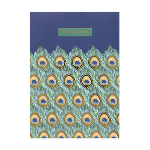A6 PEACOCK NOTEBOOK