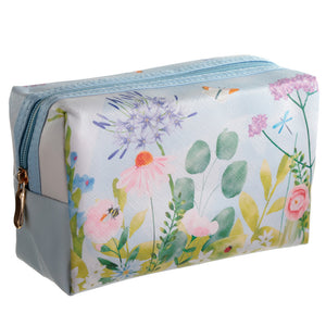 Handy PVC Make Up Toiletry Wash Bag - Botanical Gardens