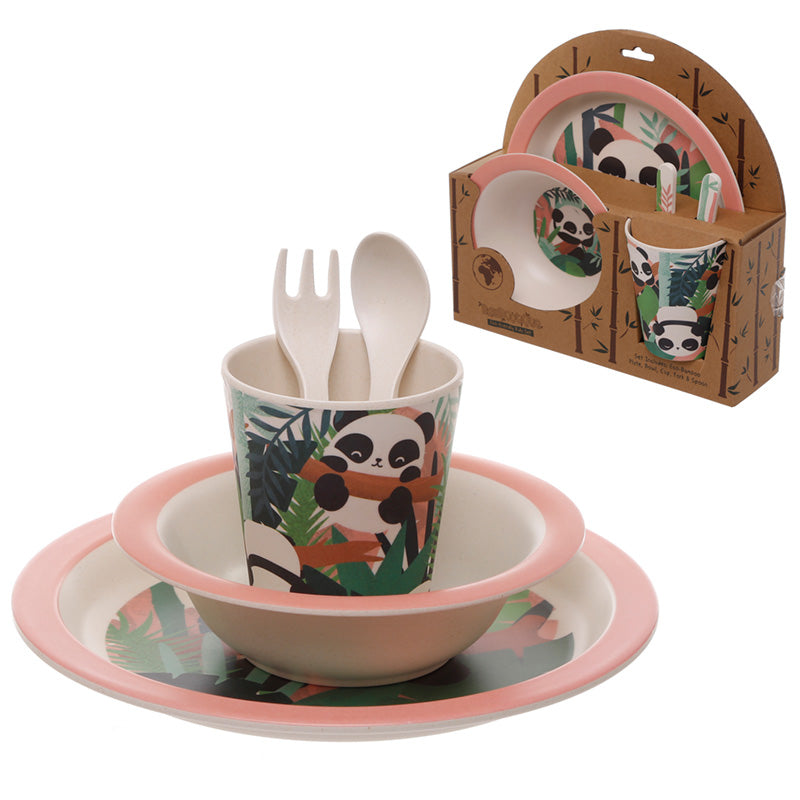 Bamboo Composite Pandarama Kids Dinner Set