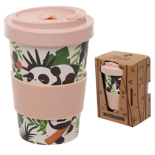 Bamboo Composite Pandarama Screw Top Travel Mug