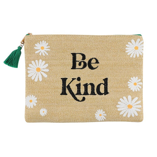 BE KIND DAISY MAKEUP BAG - Miss Pretty London UK Limited