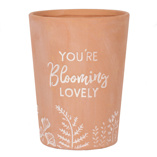 You're Blooming Lovely Terracotta Plant Pot - Miss Pretty London UK Limited