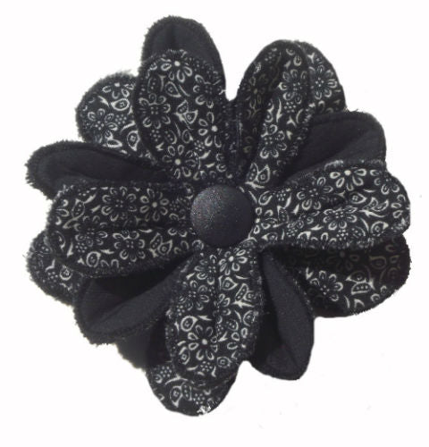 Black_Flower_Print_Flower_Brooch