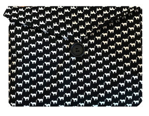 Cats Print Tablet or Laptop Bag - Miss Pretty London UK Limited