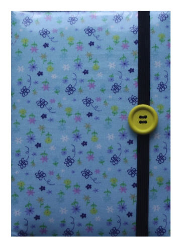 Blue Butterflies and Flowers Print E-Reader Case - Miss Pretty London UK Limited