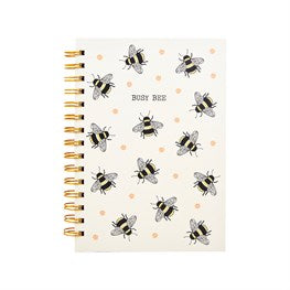 Busy Bees A5 Notebook - Miss Pretty London UK Limited