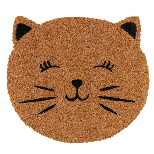 CAT FACE DOORMAT - Miss Pretty London UK Limited