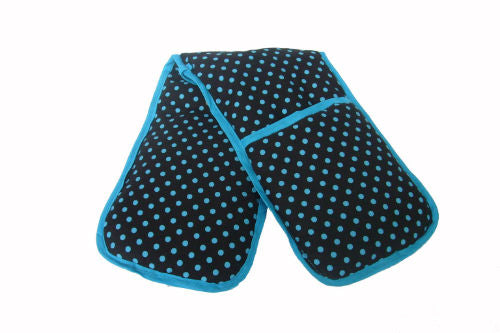 Dark_Blue_Polka_Dot_Print_Kitchen_Gloves