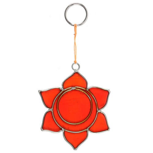 Sacral Chakra Symbol Mini Suncatcher - Miss Pretty London UK Limited