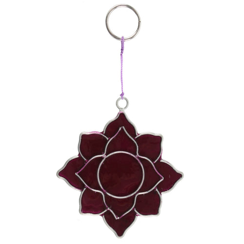 Crown Chakra Symbol Mini Suncatcher - Miss Pretty London UK Limited