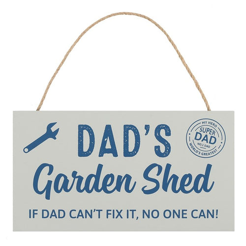 DAD'S GARDEN SHED SIGN