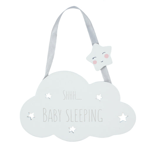 Shh Baby Sleeping Hanging Decoration