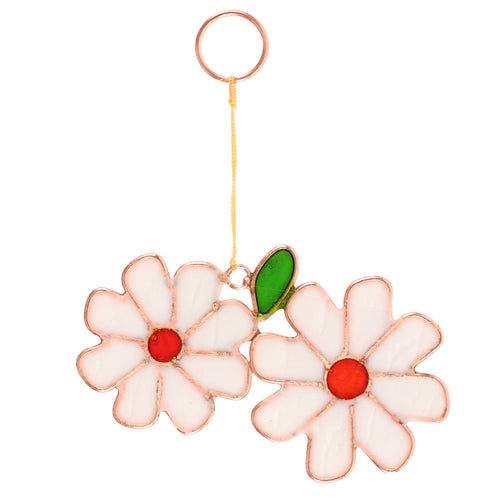 Pair of Daisies Suncatcher