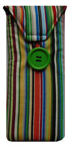 Striped Print Glasses Case - Miss Pretty London UK Limited