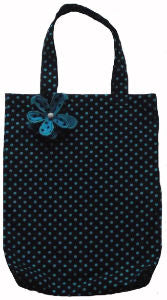 Dark_Blue_Polka_Dot_Print_Tote_Shopping_Bag