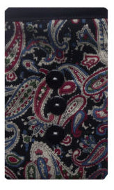 Black_Paisley_Print_Mobile_Phone_Sock_Pouch