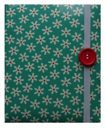 Duck Egg Blue Daisy Print E-Reader Case - Miss Pretty London UK Limited