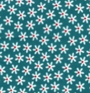 Duckegg_Blue_Daisy_Print_Cotton_Fabric
