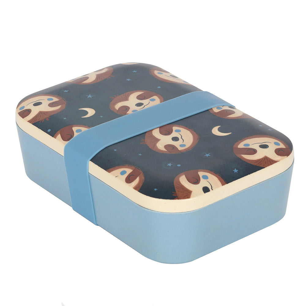 Sidney Sloth Bamboo Lunch Box