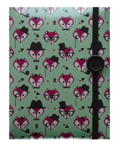 Fancy Mr Fox Print E-Reader Case