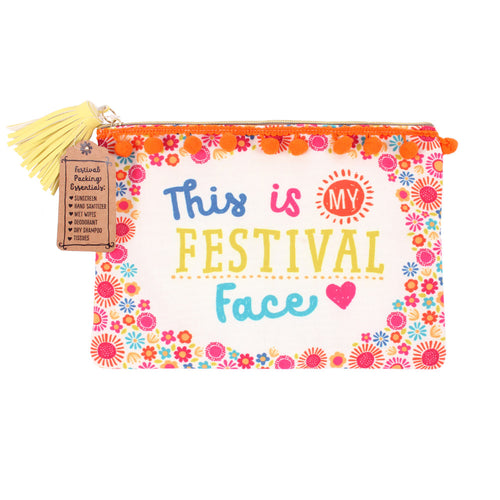 Festival Face Makeup Pouch - Miss Pretty London UK Limited