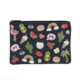 Patches & Pins Pouch - Miss Pretty London UK Limited