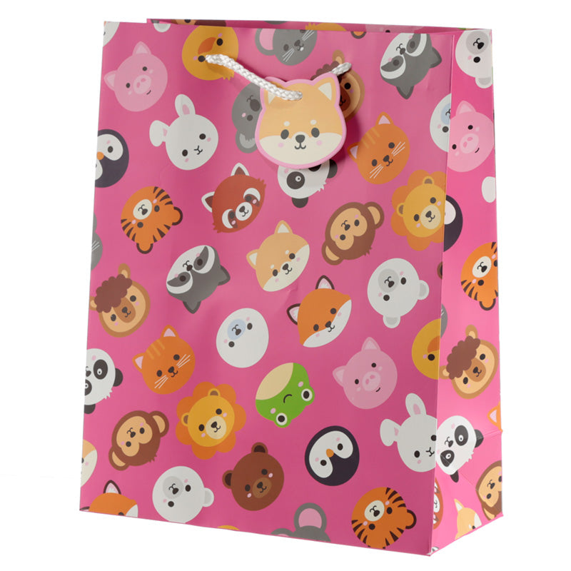 Cutiemals Cute Animal Design Large Gift Bag