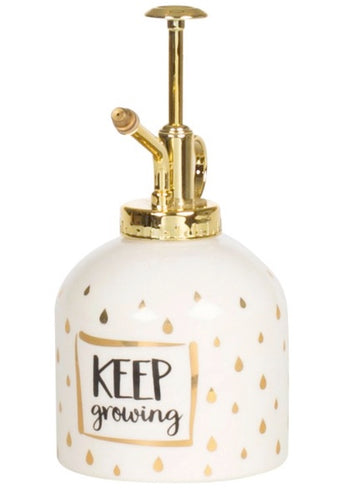 GOLD KEEP GROWING PLANT MISTER - Miss Pretty London UK Limited