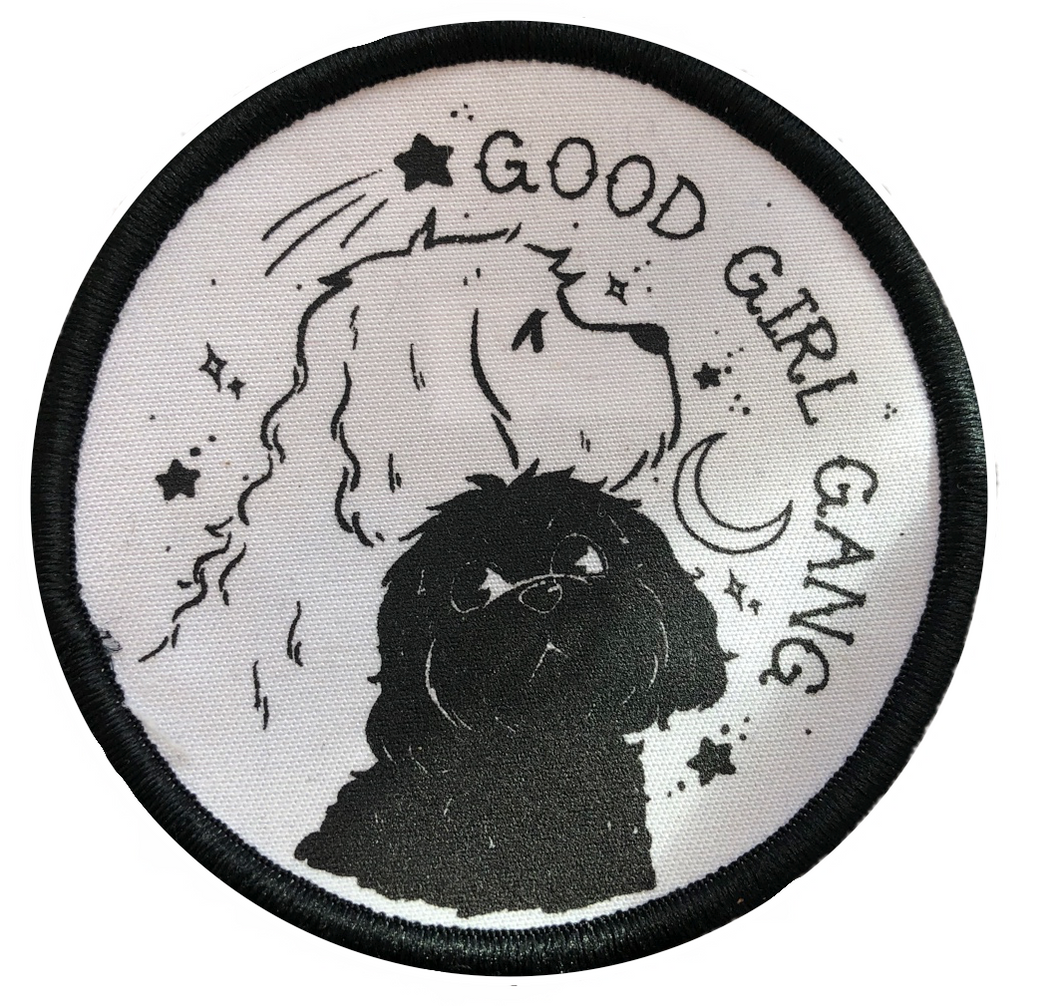 Good Girl Gang Dog Iron on Patch