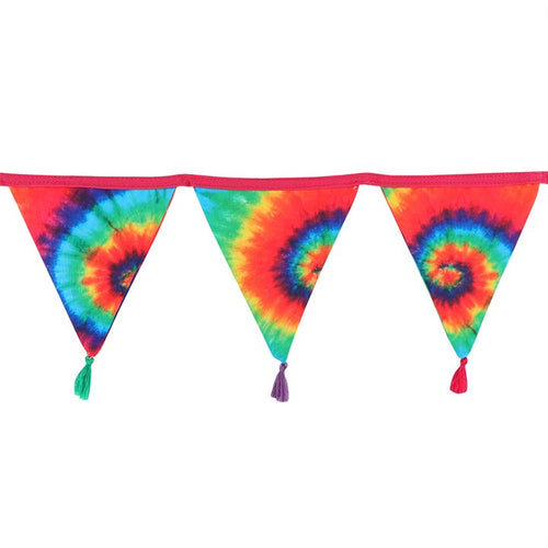 GROOVY BABY TIE DYE BUNTING - Miss Pretty London UK Limited