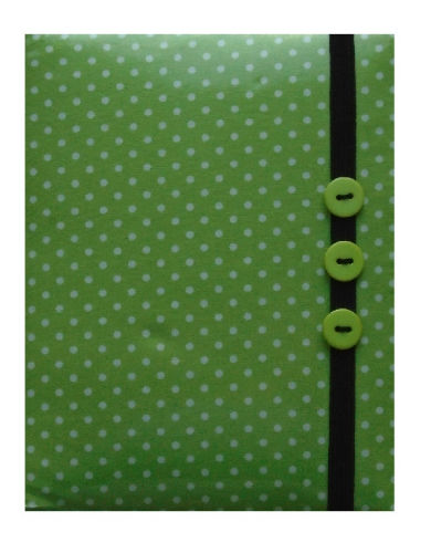 Mini Green Polka Dot Print E-Reader Case - Miss Pretty London UK Limited