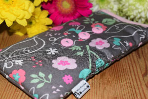 Woodland Walk Print Mobile Phone Sock Pouch - Miss Pretty London UK Limited