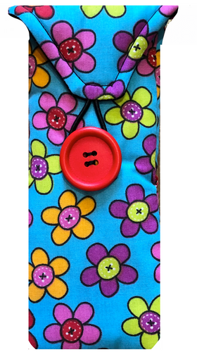 Pop Sugar Daisy Print Glasses Case - Miss Pretty London UK Limited