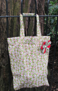 Green_Cherry_Blossom_Print_Tote_Shopping_Bag