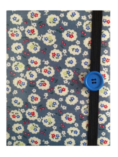 Blue Cherry Blossom Print E-Reader Case - Miss Pretty London UK Limited